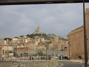 Marseille, Blick auf die Kirche Notre Dame