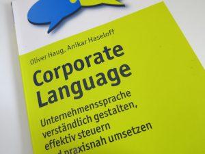 Unternehmenssprache Buchtipp