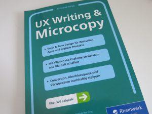 Fachbuchtipp UX-Writing